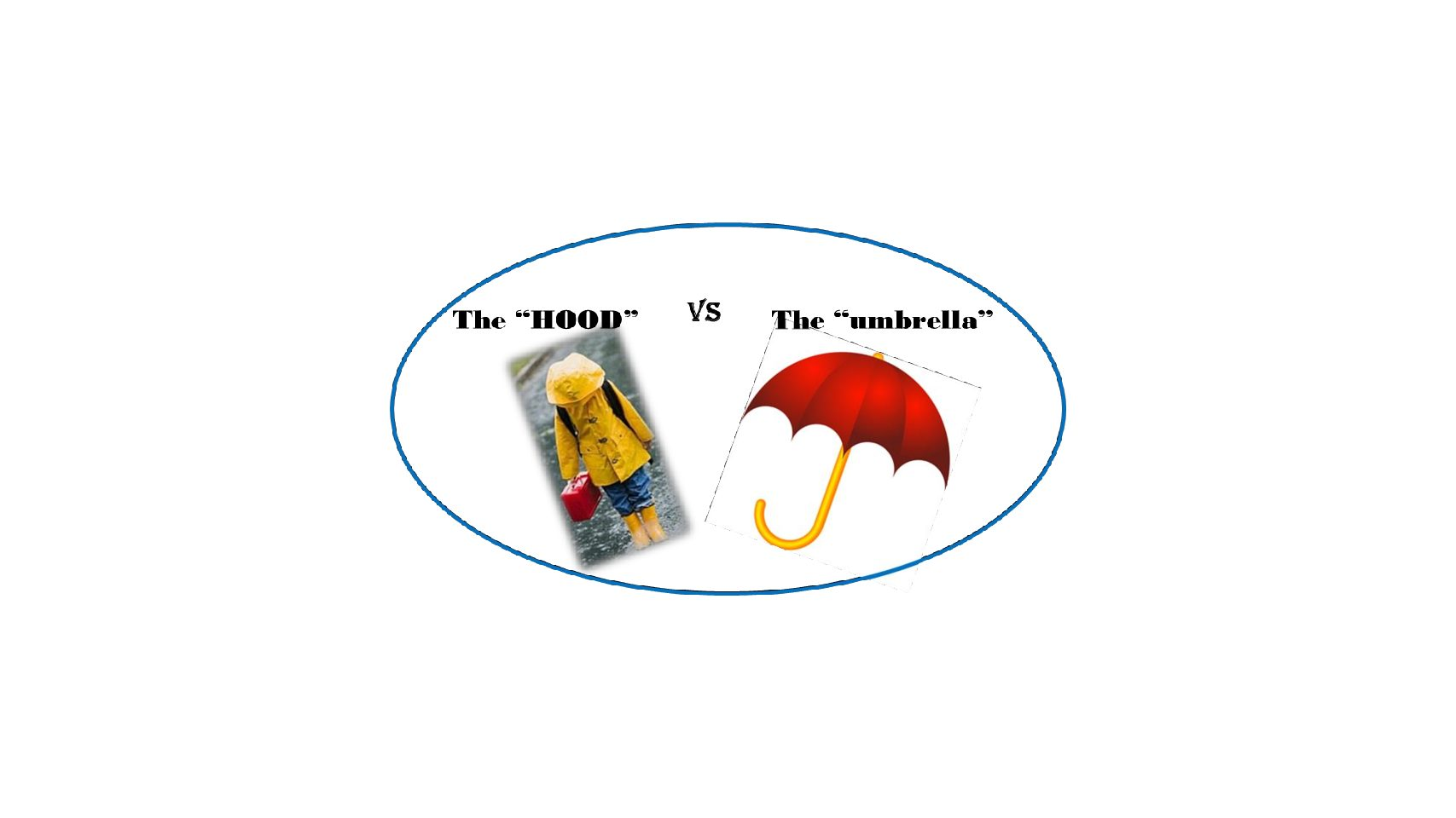 "The ""HOOD"" vs the ""Umbrella"""